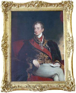 Painting: Portrait of Clemens Wenzel Lothar Prince Metternich